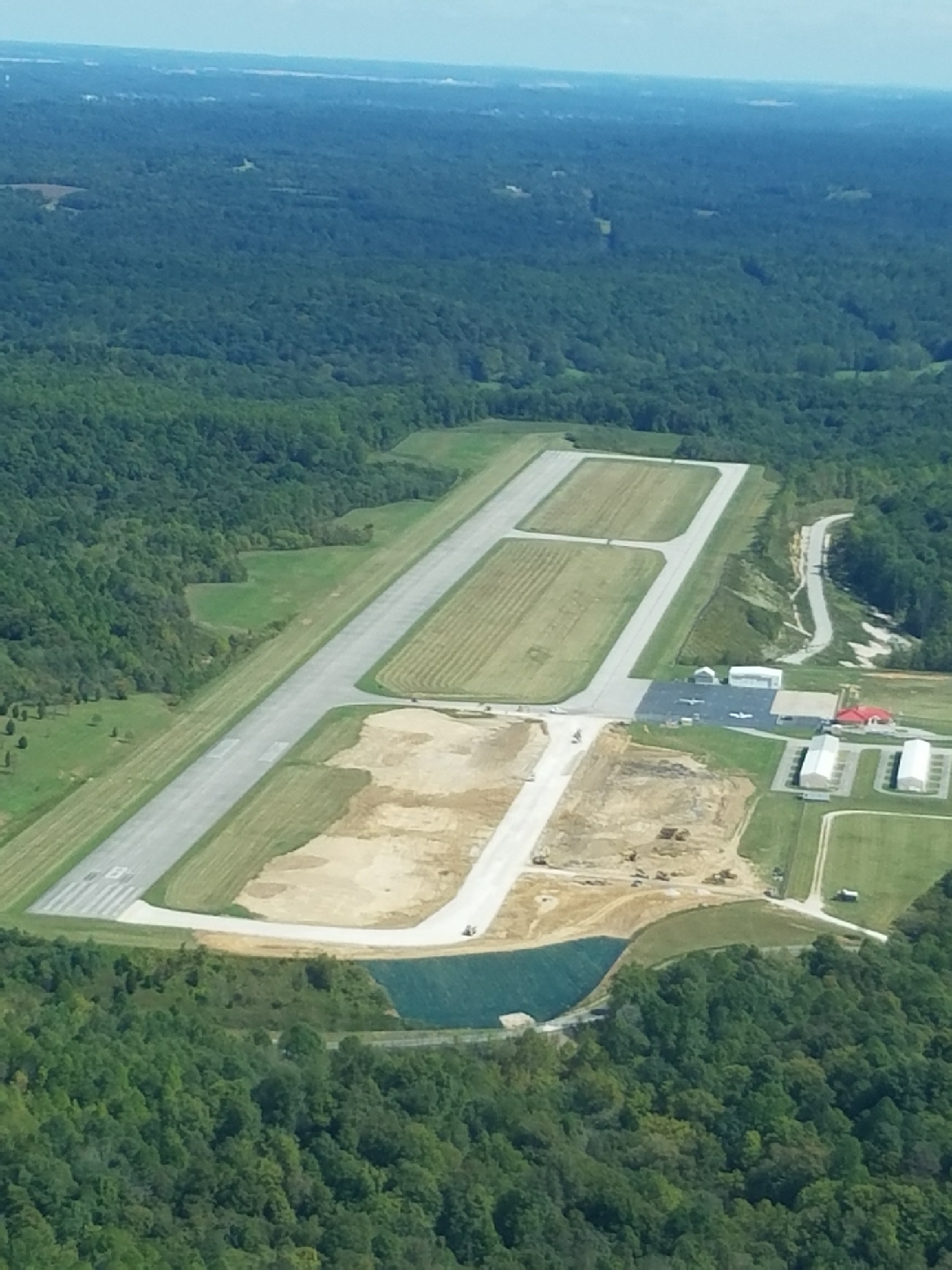 New in the Fall of 2017 - Taxiway A Rehab Project Underway